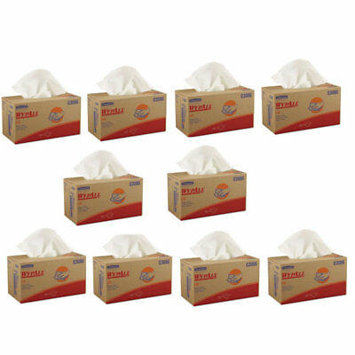 Kimberly-Clark Wypall L30 Wipers, White - 10 Boxes per Case