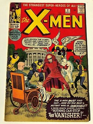 Uncanny X-Men #2 Vol.1 Marvel Comics Nothing can stop the Vanisher
