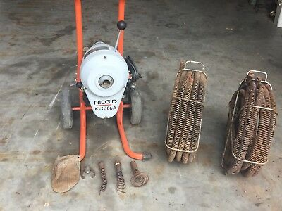 Ridgid K-1500A Drain Sewer Auger Snake Cleaner Machine