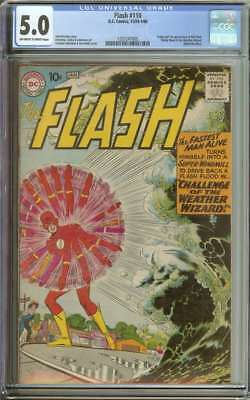 Flash #110 Cgc 5.0 Ow/wh Pages