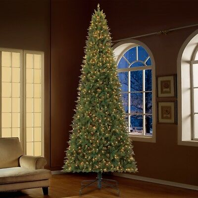 12 Foot Christmas Tree.12 Foot Christmas Tree Realistic With Lights Tall Lighted Artificial Pre Lit