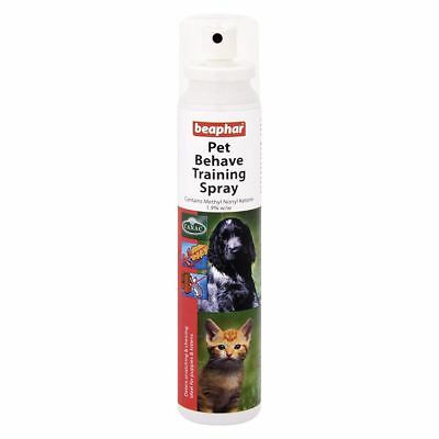 Beaphar Pet Behave Training Spray for Cats and Dogs 125ml