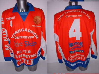Osterbymo Sweden Player Jersey Adult Large 4 Ice Hockey Shirt Trikot NHL  Match 72f91f874