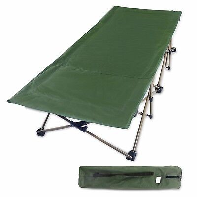X-Large Camping Cot for Adults, Oversize and Easy Portable Wide Cot, Free Storag