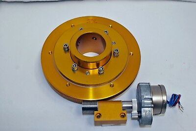"""NEW BYERS 7.1"""" 252-th Telescope Drive,With 2"""" Clutch, Single-Ended Worm & Motor"""