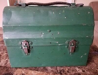 Vintage The Icy Hot Hotakold Lunchbox  With Thermos & Replacement Filler No. 22F