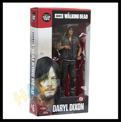 """The Walking Dead TV Series 7 Daryl Dixon 7"""" Action Figure PVC Toys New in Box"""
