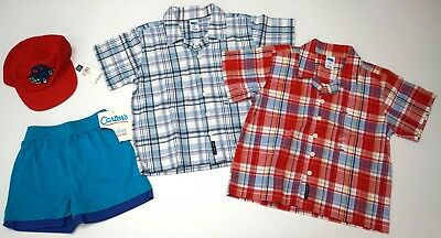 NWT LOT of 8 SHORTS SHIRTS SOCKS HAT Scooby Doo GAP Old Navy Boy 3T Red Blue NEW