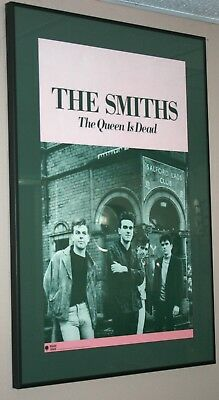 The Smiths: The Queen is Dead  Promotional Group Photo Poster 1986 Original