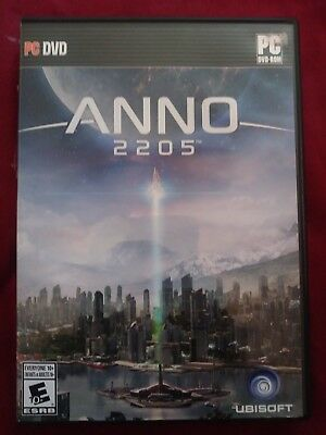 New Anno 2205 for (PC DVD, 2015) Open Box Item Physical Copy