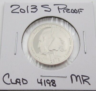 2013 S Proof ATB Mount Rushmore NP Quarter - Clad (4198)