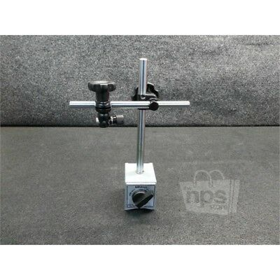 """Mitutoyo 7010SN Magnetic Stand, 3/8"""" Holding Stem, 600N Clamp Force"""