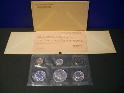 1962 Proof Set ~ Original Envelope With COA ~ US 90% Silver Mint Coin Set