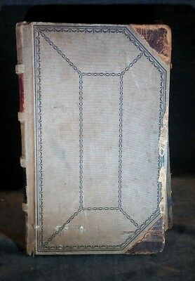 """Very Old Antique Ledger Accounting Book 1904 Edger 14' x 9"""" x 2"""" MS2"""