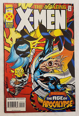 The Amazing X-Men #2 Marvel Comics 1995 The Age of Apocalypse - Lot 4A