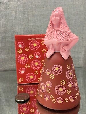 AVON Belles of the World Spanish Señorita Decanter w/Moonwind Cologne NWB