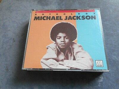 """Michael Jackson 2 CDs  """"ANTHOLOGY """" BEST OF / 40 SONGS TOP ZUSTAND !!"""