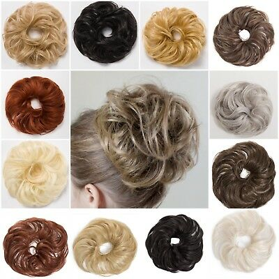 Large Koko Hair Scrunchie Wrap For Bun Ponytail Updo Natural Hairpiece Wnyl