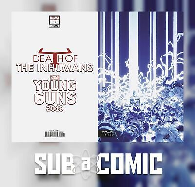DEATH OF INHUMANS #3 YOUNG GUNS CONNECTING VARIANT (MARVEL 2018 1st Print) COMIC