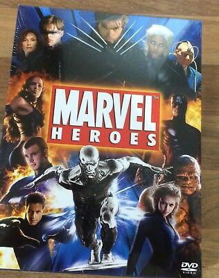 Marvel Heroes 7 DVD SET.3 xX.men,2 x fantastic four,daredevil,and elektra movies