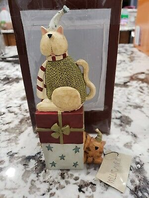 Williraye Studio Christmas Morning Cats Presents Gifts Winter Figure
