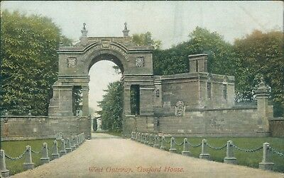 Gosford house west gateway 1905 hartman