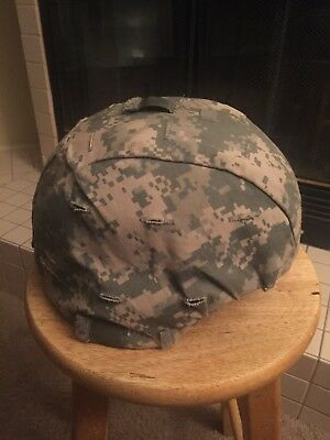 US Army ACH Advanced Combat Helmet Ground Medium MSA M-M055202 NSN:8470-01-506-6