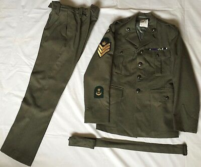 Royal Marines, Army, Special Forces, Sf, Sbs, Full Lovat Dress Uniform