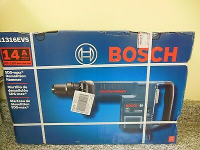Bosch Tools 14 Amp Sds-Max Demolition Hammer 11316Evs Box#11595R