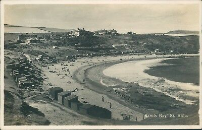 St abbs  sands bay real photo valentine