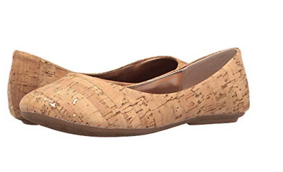 675cb84f1660 New Steve Madden Natural Ballet Flats Shoes Womens 7.5 Style  Heaven Free  Ship