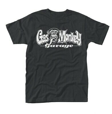 Official Gas Monkey Garage 'OG Logo' T-Shirt -Fast 'n' Loud, Hot Rod, Route 66
