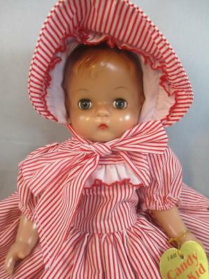 Reproduction EFFANBEE Doll Patsy *Candy Kid* Striped Dress