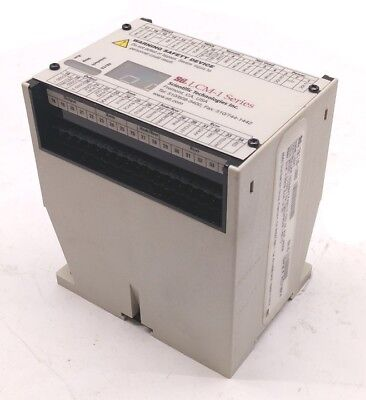STI LCM-1 70116-1000 Light Curtain Controller, Input: 24VDC, 24 PNP, RS232