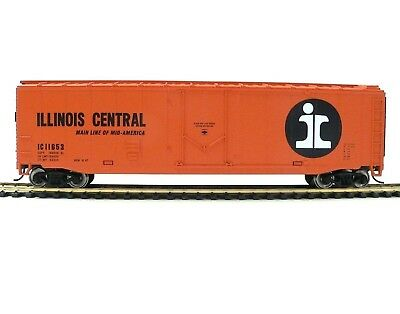 HO Scale Model Railroad Trains Layout Walthers Illinois Central Boxcar 931-1678