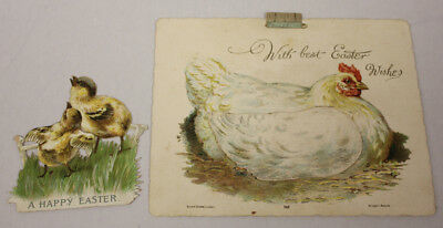 Antique Easter Card, Animated. Plus Standee