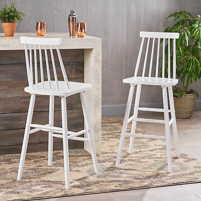 Knight Spindle Bar Stools
