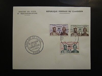 Cameroon 1962 Overprinted Series First Day Cover - Z6394