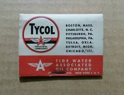 Tycol Lubrication,Flying A,Tide Water Oil Co. Golf Tees,1950's