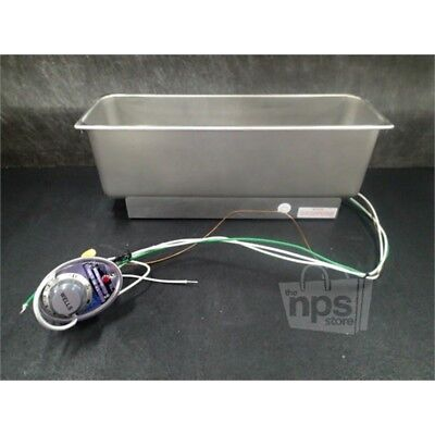Wells HMP-6 Half-size Food Warmer, Top-mount, Stainless Steel, 120V, 6.3A