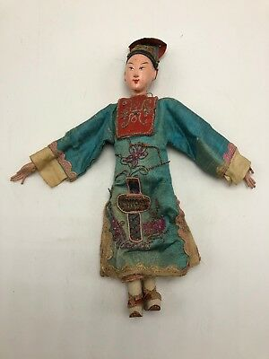 Early Chinese Opera House Doll