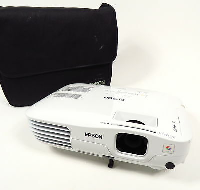 EPSON H369A EX3200 SERIES HD 1080i 3LCD PROJECTOR 2600 LUMENS & CARRYING CASE