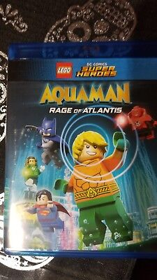 LEGO DC Super Heros: AQUAMAN - Rage of Atlantis (Digital HD, 2018)