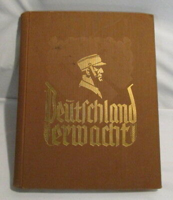1933 Deutschland Erwacht German History Book Rare German Book