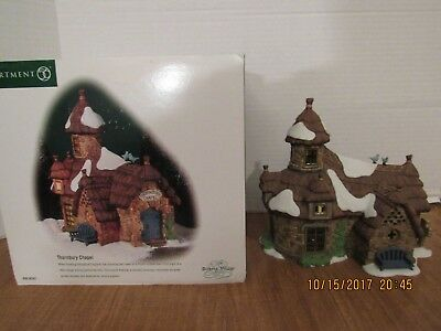 Dept. 56 Dickens Village Series 2001 Thornbury Chapel #56.58502 Country Chapel