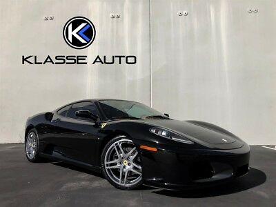 2005 F430  2005 Ferrari F430 F1 Coupe Low MIles Carbon Serviced 90% Clutch Clean Carfax Wow