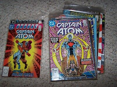 Captain Atom Lot Of 34 Comics Near Mint