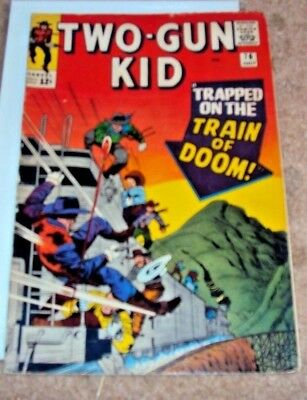 Two Gun Kid #76 1965 Silver Age Mighty Marvel Western Comics