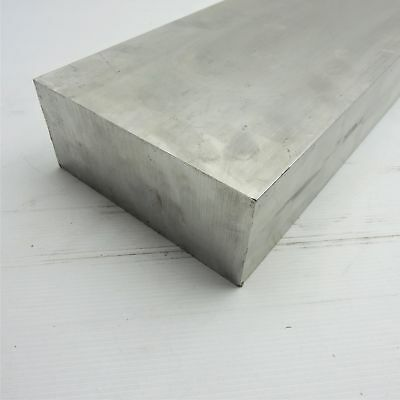 "3"" x 6"" Aluminum 6061 FLAT BAR 17.75"" Long new mill stock sku L130"