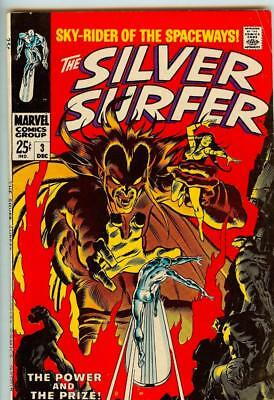 Silver Surfer #3 - 1st Appearance of Mephisto - 5.0 Very Good/Fine